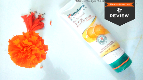 himalaya herbals tan removal orange peel-off mask