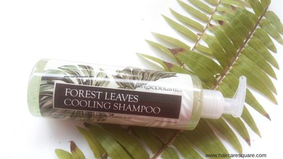 jungle botanics forest cooling shampoo review