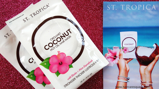 St. Tropica Organic Coconut Hot Oil Hair Mask Review: Best Oil For Hair Growth?