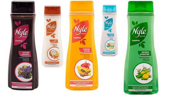 Nyle Herbal Shampoos Haul