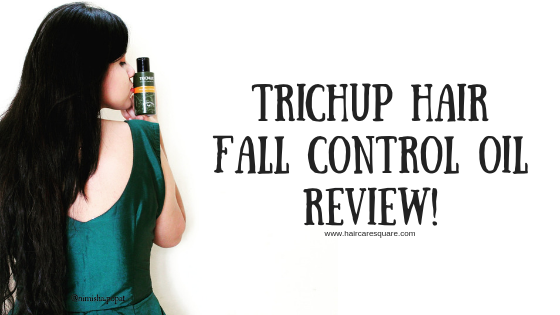 Trichup Hair Fall Control Oil Review