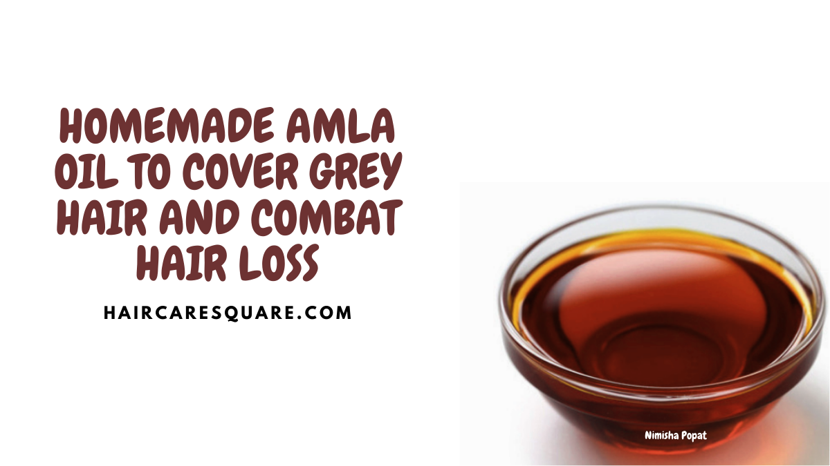 amla powder and coconut oil for hair