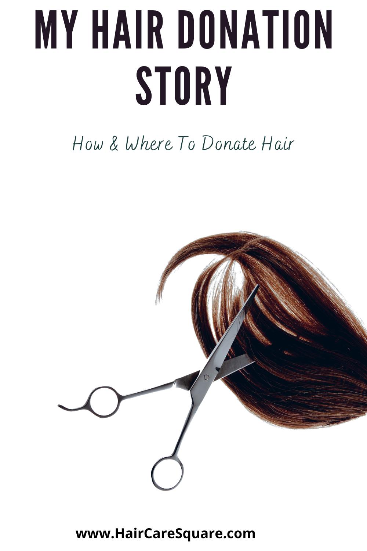 hair donation story