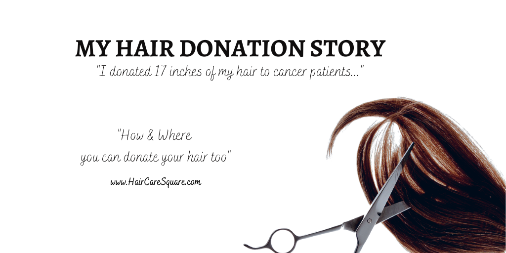 hair donation story