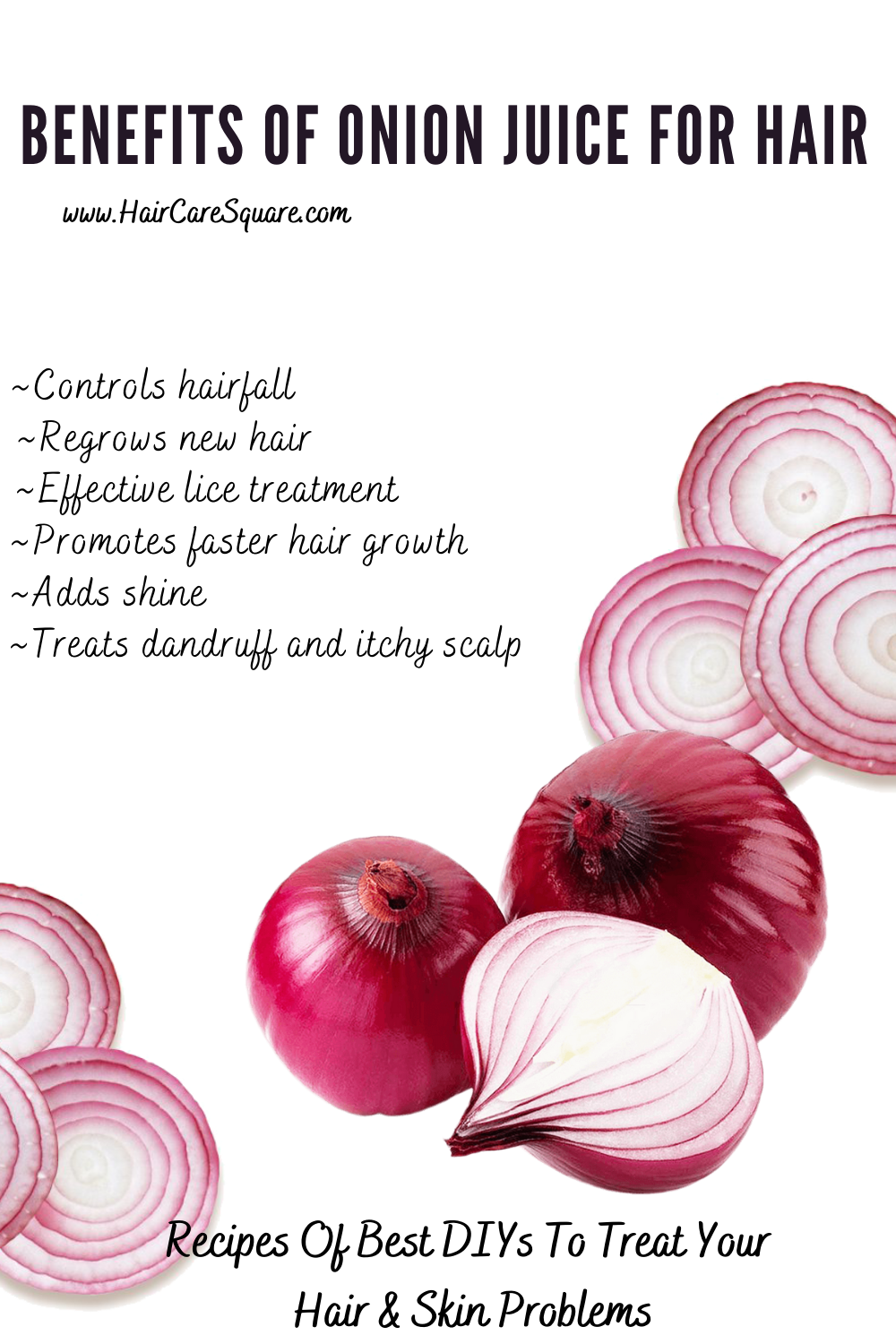 benefits of onion for hair